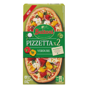 BUITONI Pizzetta Verdure 4 (2 x 185g)