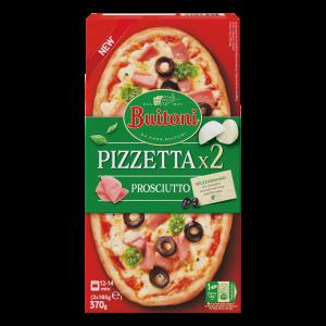 BUITONI Pizzetta Prosc 4 (2 x 185g)