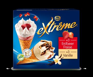 EXTRÊME Classic Vanille/Erdbeeren 4 x (6 x 145ml)