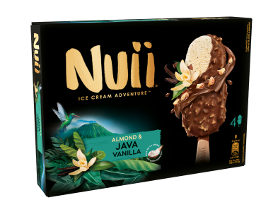 NUII Almond & Java Vanilla MP 4 x 90ml