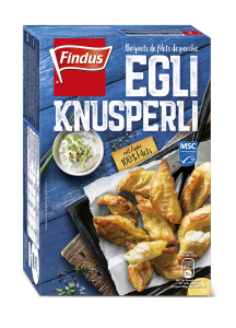 FINDUS Egli Fischknusperli MSC 10 x 230g