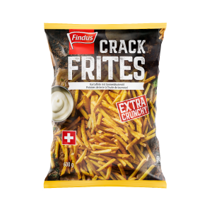 FINDUS Crack-Frites mit Knusperkruste 8 x 600g