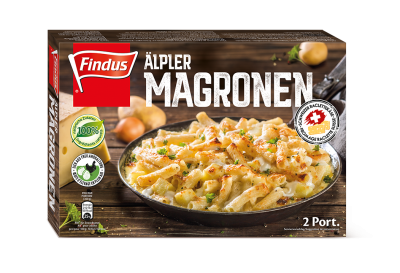 FINDUS Macaronis montagnards 8 x 600g