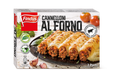 FINDUS Cannelloni al forno 8 x 600g