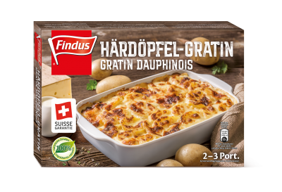 FINDUS Härdöpfel-Gratin 8 x 600g