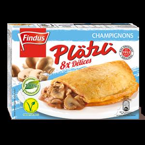 FINDUS Plätzli Champignons 8 x (8 x 60g)
