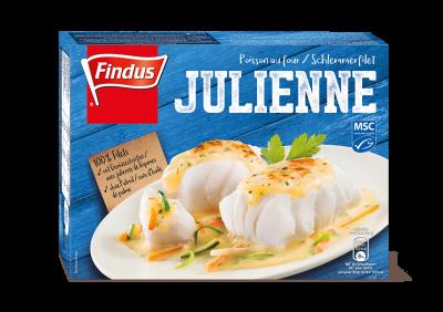 FINDUS Schlemmerfilet Julienne MSC 8 x 450g