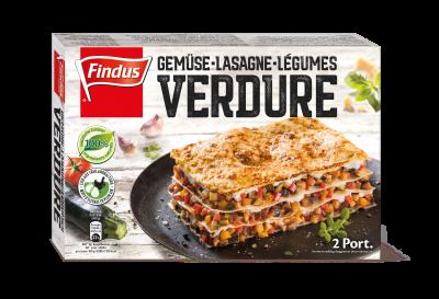 FINDUS Lasagne verdure 8 x 600g