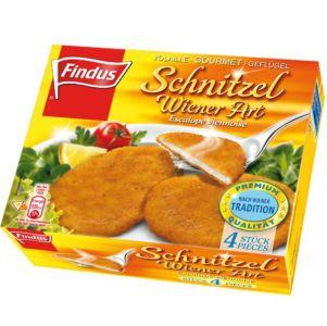 FINDUS Schnitzel Wiener Art 9 x (4 x 70g)