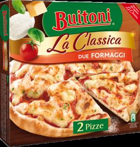 BUITONI La Classica Due Formaggi 6 x (2 x 320g)