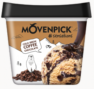 MÖVENPICK #sensations Cold Brew Coffee Chocolate 4 x 900ml