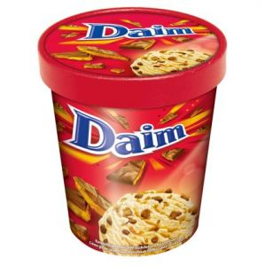 DAIM Ice Cream Tub 6 x 480ml