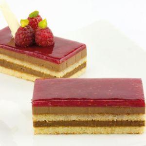 Dessert Himbeer Schoko-Croquant 63 Stk. à 50g