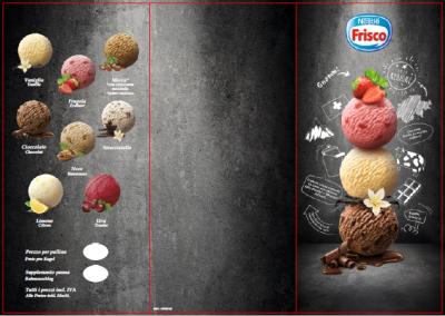 Italiano 10 Carta gelato con inserto