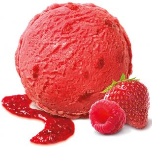 MÖVENPICK Raspberry & Strawberry 2 x 2400ml
