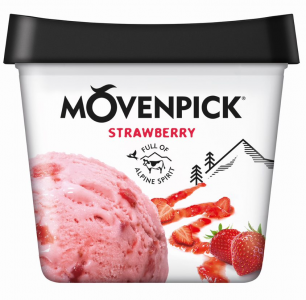 MÖVENPICK Classics Strawberry 4 x 900ml