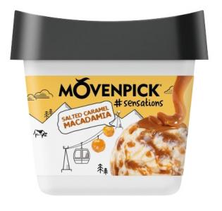 MÖVENPICK #sensations Salted Caramel Macadamia 16 x 165ml