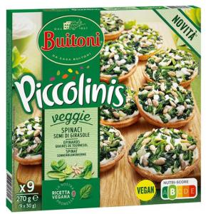 BUITONI Piccolinis Vegan Spinach 10(9x30g)