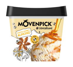 MÖVENPICK Swiss Honey Almond 4 x 900ml
