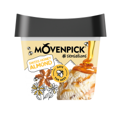 MÖVENPICK #sensations Swiss Honey Almond 16 x 165ml